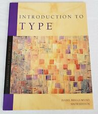 Introduction to Type, Sixth Edition, by Isabel Briggs Myers