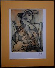 Original Farb-Lithographie von Picasso Limitierte Auflage Nr. 13/250