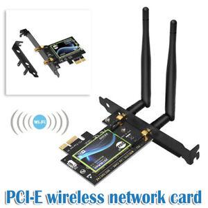 PCI-E Wifi 6 Adapter Desktop Wireless 3000Mbps Bluetooth 5.0 AX200NGW wifi Card