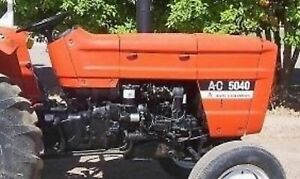 Made to Fit ALLIS CHALMERS 5040 Hood Decal Set