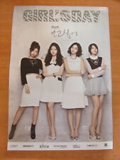 GIRL'S DAY - Kihno Album I Miss You : Want to See [OFFICIAL] POSTER *NEW* K-POP