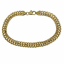 "Chain Yellow Gold 8 - 8.49"" Fine Bracelets without Stones"