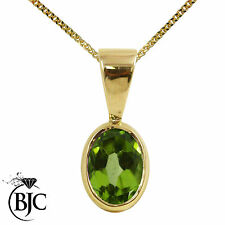 Yellow Gold Natural Fine Gemstone Necklaces & Pendants