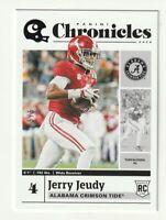 2020 Panini Chronicles Draft Picks RC Jerry Jeudy Black Denver Broncos SP 5/5 #2