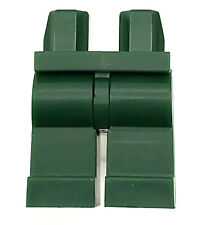 LEGO NEW DARK GREEN MINIFIGURE LEGS PLAIN  BOY GIRL PANTS PIECE