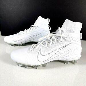 Nike Alpha Huarache 7 Elite Lacrosse Cleats CJ0224 106 White LAX Mens Size 9.5