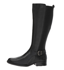 Born Campbell Women's Black Leather Boots Sz 8.5 2929 *