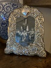 More details for a stunning sterling silver photo / picture frame. free postage.