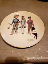 """New listing 1975 Norman Rockwell Limited Edition Gorham Spring Young Man's Fancy, 10 3/4"""""""
