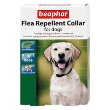 Beaphar Dog Puppy Herbal Flea Repellent Collar Waterproof Band Repels Fleas 65cm