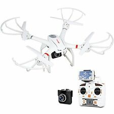 FPV RC Drone Quadcopter HD Camera Aerial Photography Compatible w/ 3D Headset