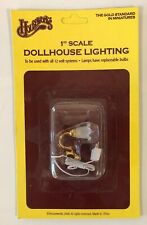 Houseworks Single Frosted Wall Sconce 1 Inch Scale Dollhouse Miniature 2640 New