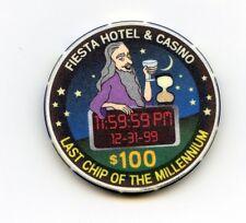 $100.00 Fiesta Casino. Las Vegas , Nevada.  Last Chip of The Millennium.