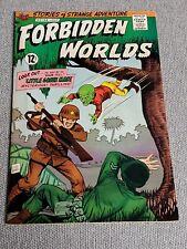 Forbidden Worlds Comic #144 July 1967 Little Green Man
