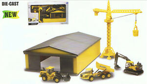 Volvo Construction Vehicles Play Set + Accessory, Construction Vehicle Models