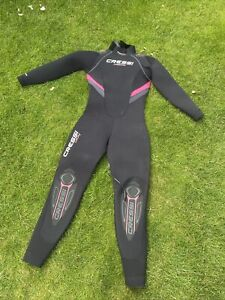 Womens Cressi 5mm Wetsuit Size Small