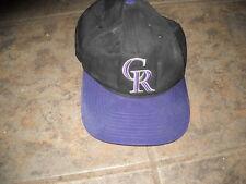 Cool Colorado Rockies Baseball Cap Hat H-21