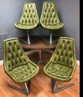 Vintage Chromcraft Sculpta Star Trek Chairs Table Set Vladimir Kagan 5 Piece Lot