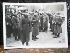 Photo argentique guerre 39 45 soldat Allemand wehrmacht WWII  Officier et soldat