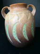 A Roseville Falline Vase #647 - 7