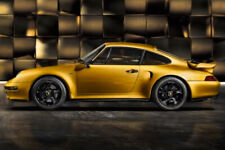 Porsche 911 993 Turbo Project Gold Classic Series Exclusive Spark 1:18