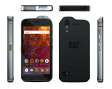 CAT® S61 Black, Dual SIM, 64GB4GB, Thermal Camera, Laser Measurement, IP68-IP69