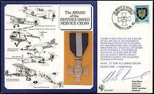 Jersey 1985 RAF DM5 Médaille Croix Services distingués couverture signée volé #C 24934