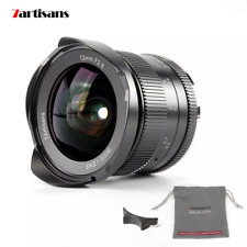 7artisans 12mm f/2.8 wide angle APS-C lens for Canon EOS-M mount EOS M M10 M5 M6
