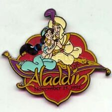Aladdin+Jasmine Flying Carpet Countdown To The Millennium #38 Disney Pin 739 Nip