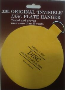 """5 1/2"""" Invisible Disc Adhesive Plate Hanger"""