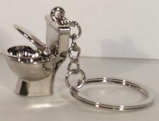 Mini TOILET Stool Bathroom KEY CHAIN Ring Keychain NEW