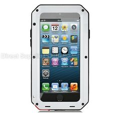 Waterproof Shockproof Metal Aluminum Gorilla Case  For iPhone 5 SE 6 7 8 Plus X
