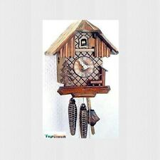 DOLD 1-5 Small Chalet 1 Day German Cuckoo Clock 8.5""