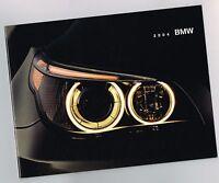 2004 BMW Brochure:7,6,5,3 Series,Z4,M3,X3,X5,745i,645Ci,530i,325i,330i,545i,760