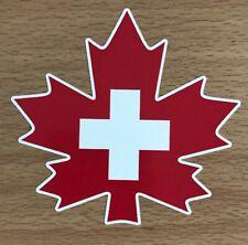 Canada Ski Patrol Sticker - Canadian Skiing Snowboarding Medical Whistler Burton