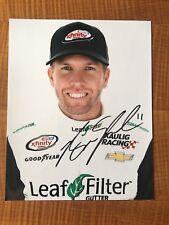 Blake Koch Signed 8x10 Daytona Profile  Photo NASCAR autograph COA