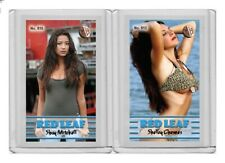 Shay Mitchell rare MH Red Leaf #'d 1/3 Tobacco card no. 610