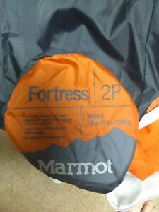 Marmot Fortress 2 person tent plus two 'footprints'; New and Unused