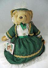 Bearly People Plush Bear Elegant Scarlett Gone with Wind Drapes Dress EL06 Tags