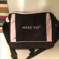 NEW Mary Kay Black & Pink Large Nylon Shoulder Bag Tote Bag Laptop Case RARE!