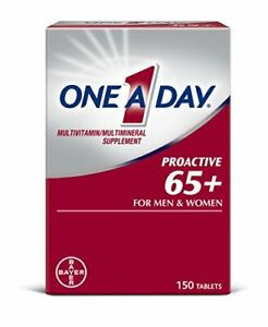 One A Day Proactive 65+, Mens & Womens Multivitamin, Supplement with Vitamin...