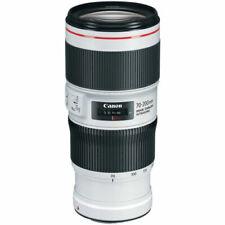 Canon EF 70-200mm F/4l Is II USM Lens - White