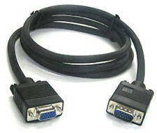 6 Ft SVGA VGA Monitor Extension Cable M/F - Male to Female Video PC 6 Foot NEW