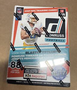 2021 NFL Donruss Football Blaster Box. Brand New Sealed