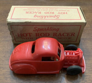 Vintage Marx Toys  Sparkling Hot Rod Racer NO.4  With Box Rare