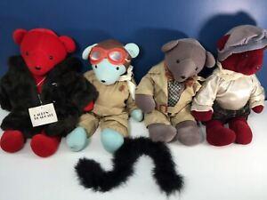 VTG LOT 4 North American Bear Co. Teddy Bears Humphrey Beargart Lauren Bearcall