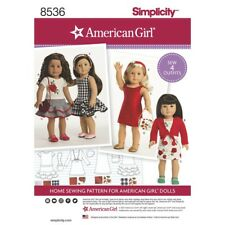 SEWING PATTERN! AMERICAN GIRL DESIGNS FOR DOLLS! OUTFITS FIT NANEA~Z YANG~JULIE!