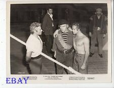 Jeff Chandler Scott Brady barechested VINTAGE Photo Yankee Buccaneer