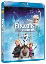 Frozen * el Reino del hielo Blu-ray abierto pero sin uso Disney