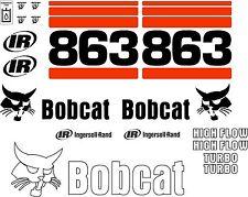 863 G Replacement decals decal kit / sticker set skid loader steer fits bobcat